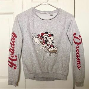 H&M Disney Minnie&Mickey Sweater